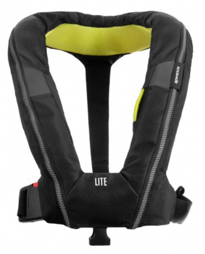 Spinlock Deckvest Lite Lifejacket 170N Automatic Black Lightweight